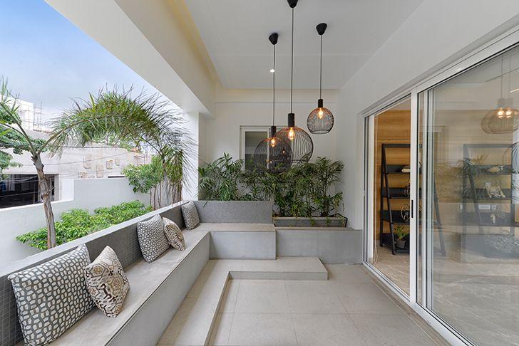 balcony residential lighting manual UrbanZen indiaartndesign