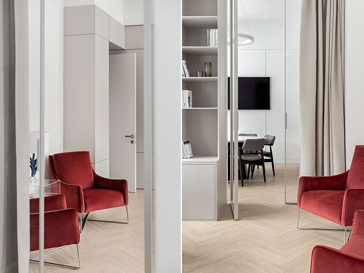 neutral with a splash of colour FGOffice Ukraine aiselarchitects indiaartndesign