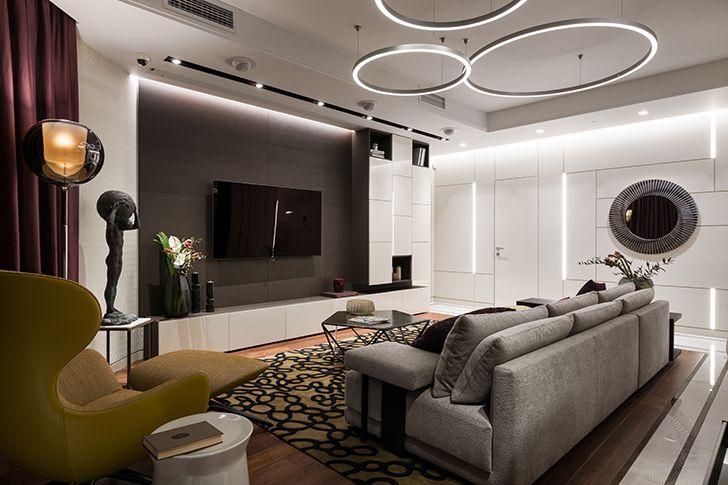 living Kiev residence StudioBolshakova indiaartndesign