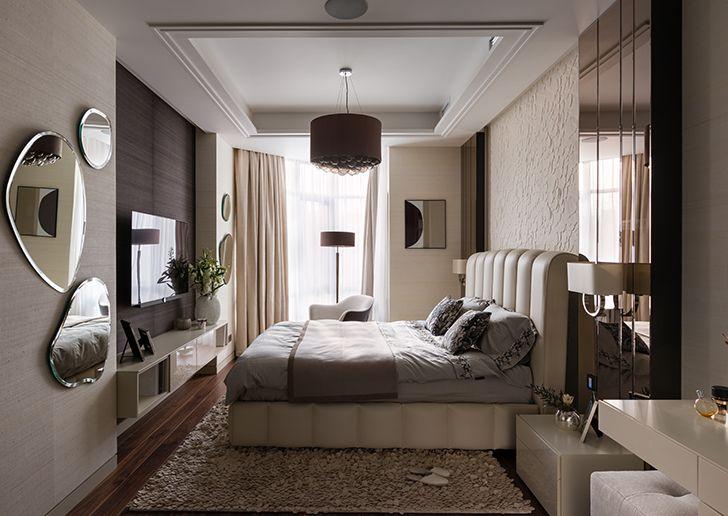 master bedroom Kiev residence StudioBolshakova indiaartndesign