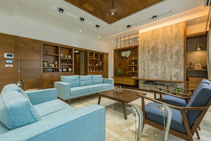 formal living area mumbai home OHAStudios indiaartndesign