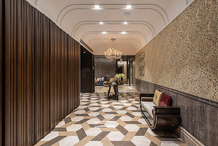 italian marble flooring Agarwal home ASquareDesigns indiaartndesign
