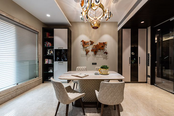 home office Agarwal home ASquareDesigns indiaartndesign