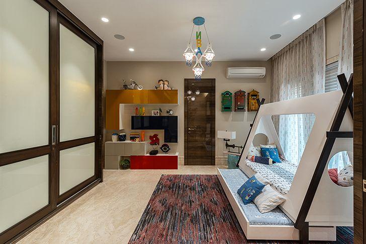 kids bedroom Agarwal home ASquareDesigns indiaartndesign