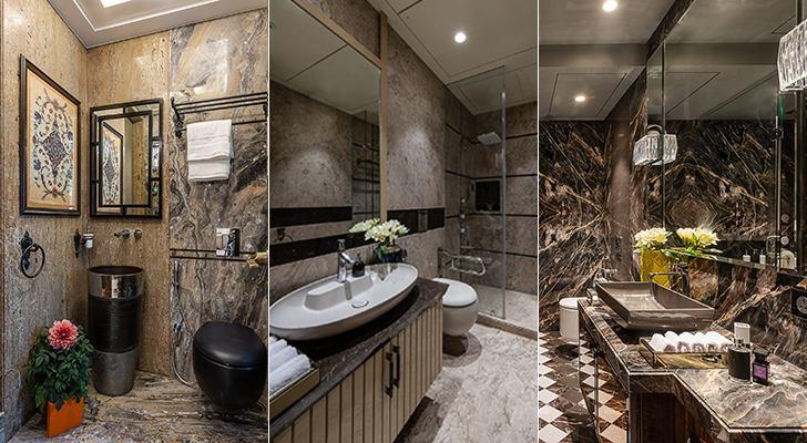 luxurious bathrooms Agarwal home ASquareDesigns indiaartndesign