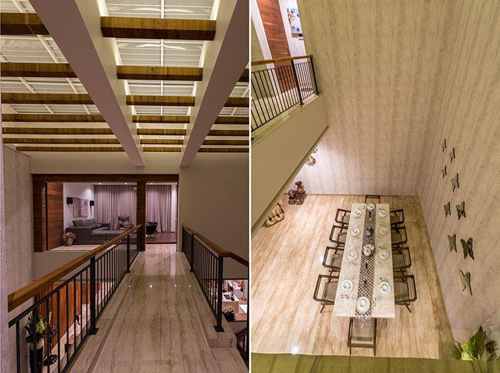 double height volume luxurious pune residence DesignersGroup indiaartndesign