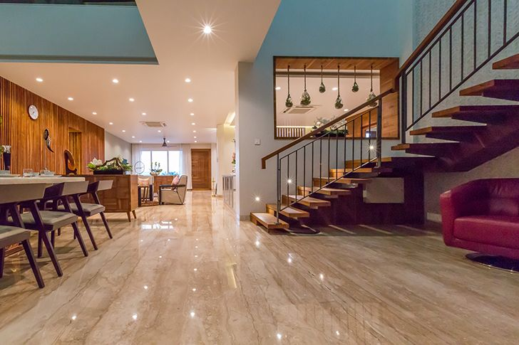 spacious luxurious pune residence DesignersGroup indiaartndesign