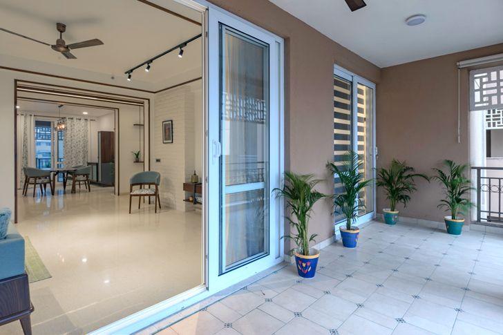 living room terrace framed chimera IntrigueDesignStudio indiaartndesign