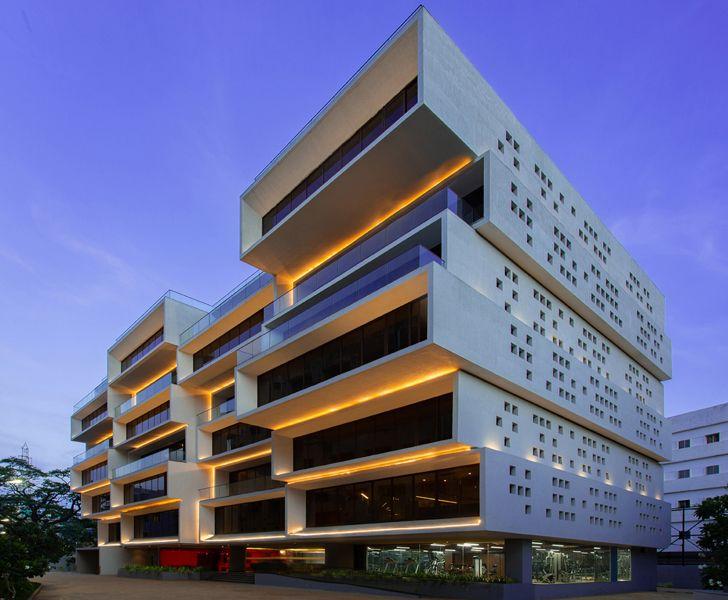 office building Chennai AkayaGroup SanjayPuriArchitects indiaartndesign