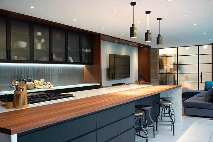 """kitchen CasaLandJ Alvaro Moragrega Architects indiaartndesign"""