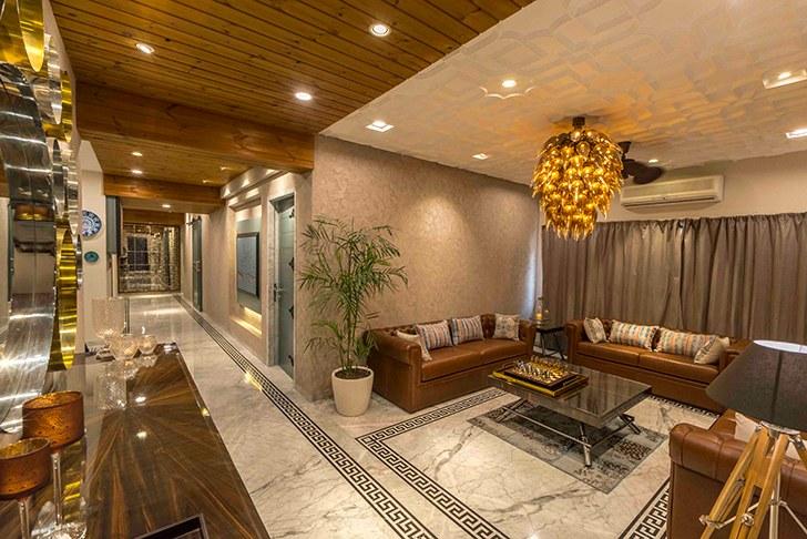 """formal livingroom HyderabadResidence Inhabit by NeetaKumar indiaartndesign"""