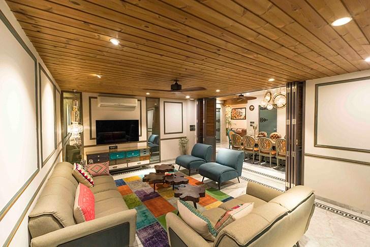 """informal livingroom HyderabadResidence Inhabit by NeetaKumar indiaartndesign"""