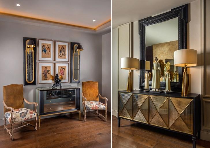 """consoles Kolkata residence BeyondDesigns indiaartndesign"""