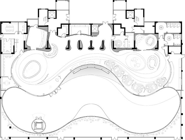 floorplan CIFI ParkMansion IppolitoFleitzGroup indiaartndesign