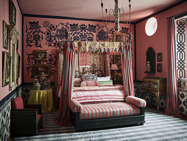 """bedroom michellenassbaumer sanmiguelhome indiaartndesign"""
