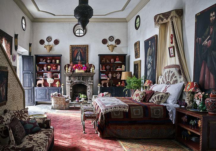 """bedroom2 michellenassbaumer sanmiguelhome indiaartndesign"""