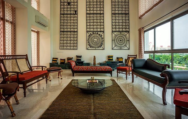 """living room markat gurugram home studiocrypt indiaartndesign"""