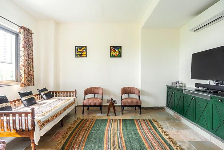 """lounge markat gurugram home studiocrypt indiaartndesign"""