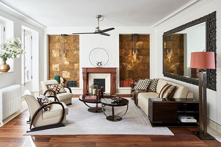 livingroom ParisianResidence ArchitectHassanArji indiaartndesign