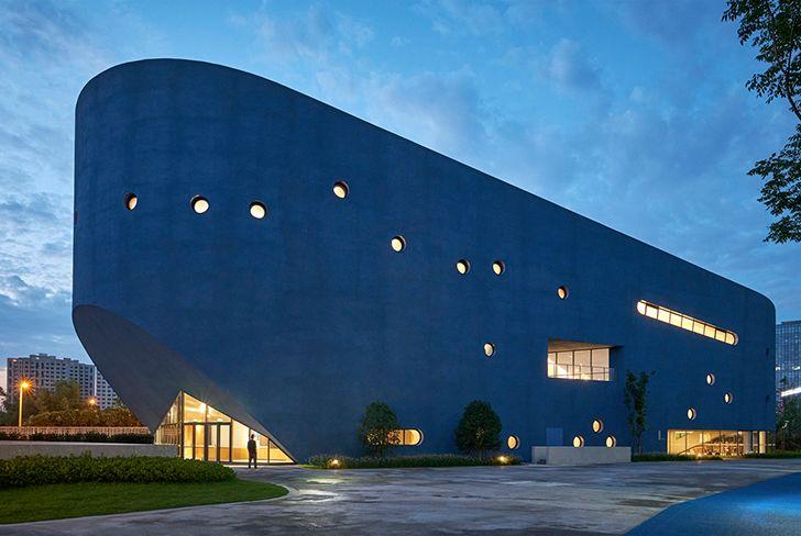 facade Pinghe Bibliotheatre OPENArchitecture indiaartndesign