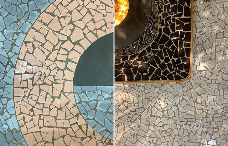 flooring patterns Coruscate2 officedesign by Studio17 indiaartndesign