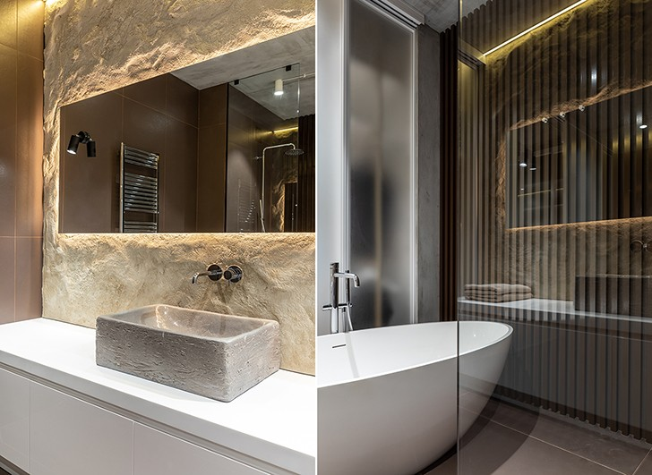 """""""luxuriousbathroom mazankaApartment Kyiv SergeyMakhnoArchitects indiaartndesign"""""""